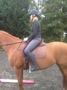 Rider alignment - horse riding core stability
